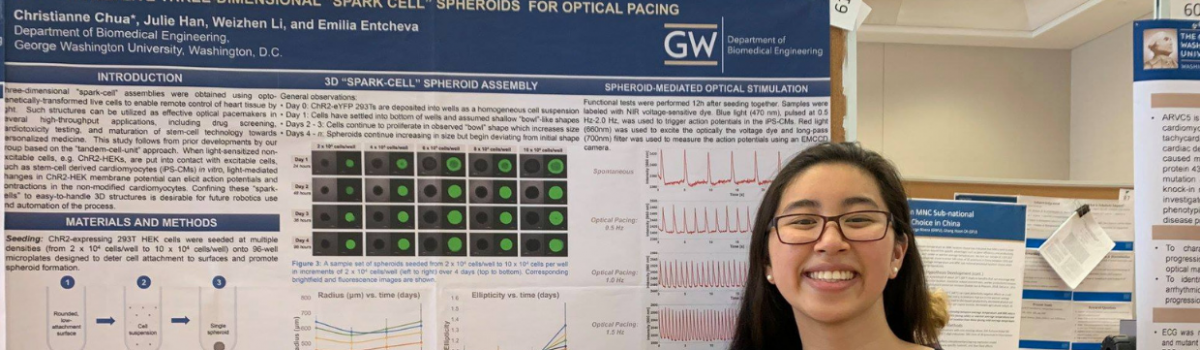 George Hacks team member, Christianne Chua, named a Barry Goldwater Scholar