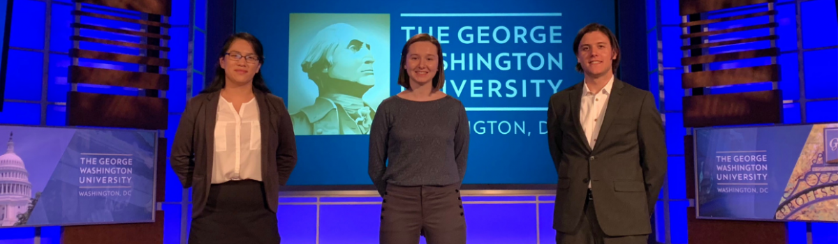 """George Hacks featured in """"GW Students Pursue Startups and Entrepreneurship"""""""
