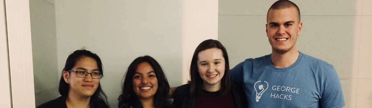 George Hacks All-Women's Team Takes 3rd Place at Pitch George Competition